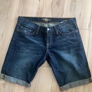 Lucky Brand Riley denim jean shorts 6/28
